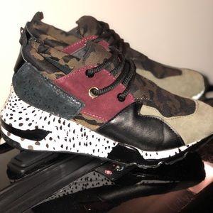 Steve Madden Shoes | Cliff Olive Multi